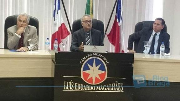 Alaidio Castilho foi o Presidente da sessão da posse do novo presidente Elton Alves.