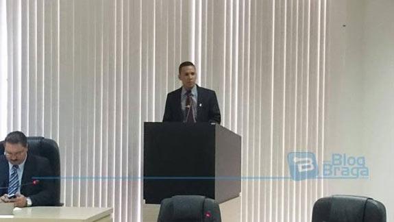 Elton Alves o novo Presidente da Câmara Municipal de Luís Eduardo Magalhães.