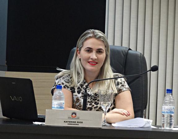 Vereador Katerine Rios