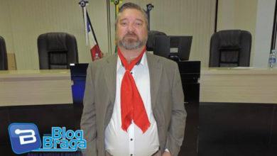 Photo of Vereador Sidnei Giachini faz homenagem a Semana Farroupilha durante a Sessão da Câmara de Vereadores
