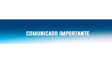 Photo of COMUNICADO IMPORTANTE